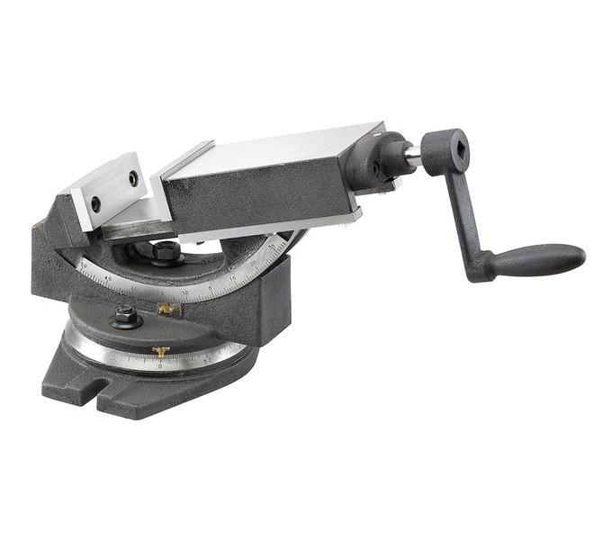 Dwuosiowe imadło maszynowe śrubowe GS 100 BERNARDO - 4396 - zdjęcie 1