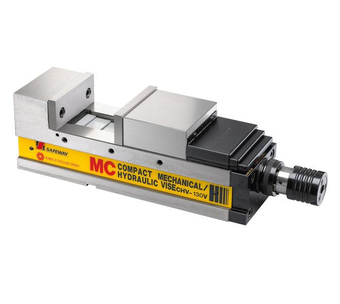 Mechaniczne imadło maszynowe śrubowe CHV 130 V BERNARDO - 4413 - zdjęcie 1