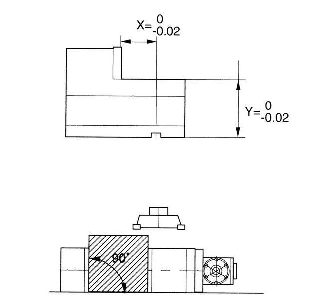 Mechaniczne imadło maszynowe śrubowe CHV 130 V BERNARDO - 4413 - zdjęcie 4