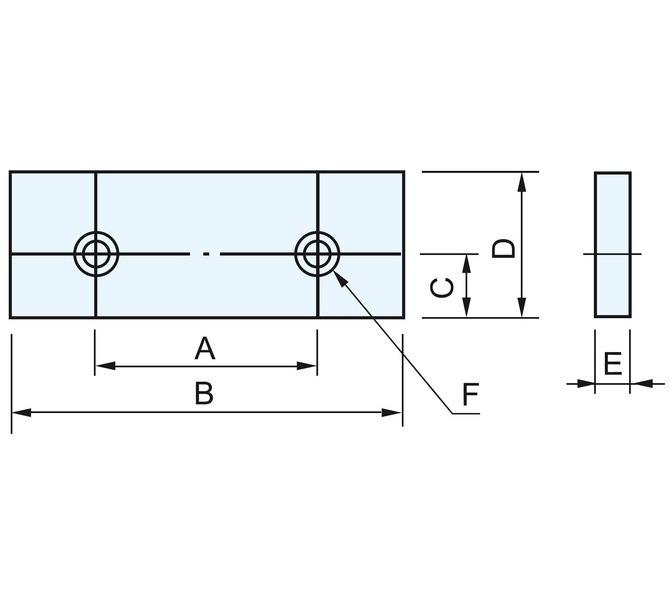 Szczęki główne miękkie FJ 1602 - 2 sztuki BERNARDO - 4458 - zdjęcie 1