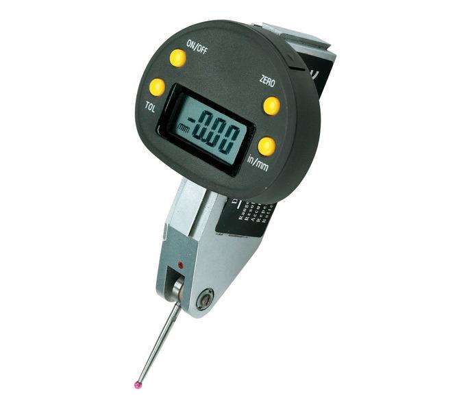 Cyfrowy czujnik zegarowy do równości i odchyłów 0 - 0,5 mm x 0,01 mm BERNARDO - 4531 - zdjęcie 1