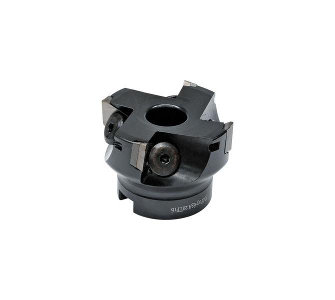 Frez walcowy z wymiennymi płytkami 90° - rozmiar 125 mm / B 40 mm BERNARDO - 4758 - zdjęcie 1