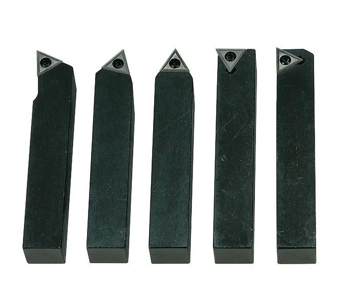 Noże tokarskie z płytkami weglikowymi HM, 20 mm,  5 szt. BERNARDO - 4788 - zdjęcie 1