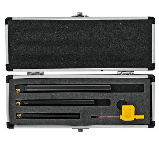 Zestaw noży tokarskich, noże tokarskie 3szt 8, 10, 12 mm BERNARDO - 4851 - zdjęcie 2