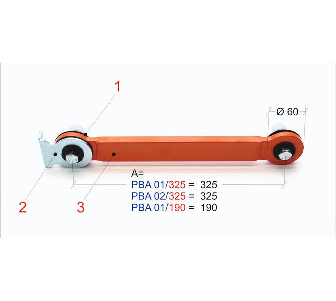 Articulated arm kit PBA 01/325 BERNARDO - 5348 - zdjęcie 1
