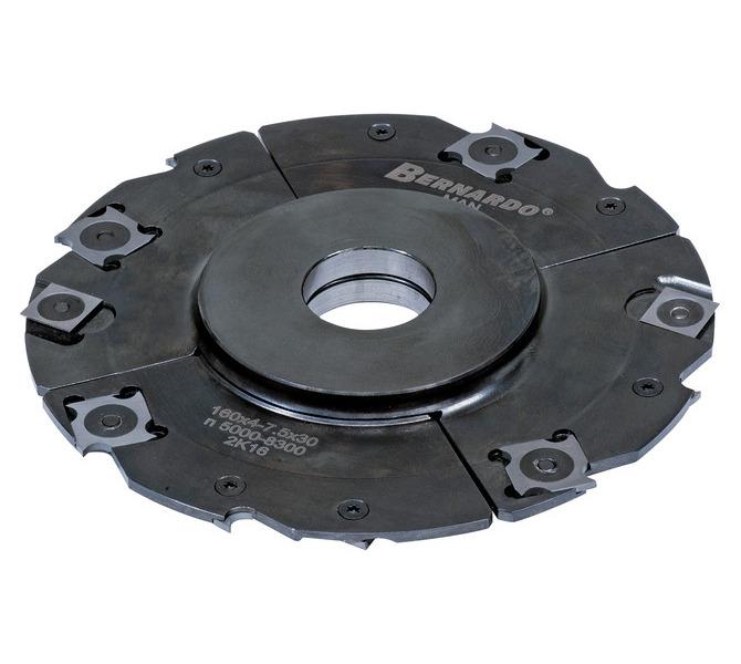 Frez tarczowy 160 x 4 - 7,5 x 30 mm z pośrednim pierścieniem, regulowany BERNARDO - 3436 - zdjęcie 2