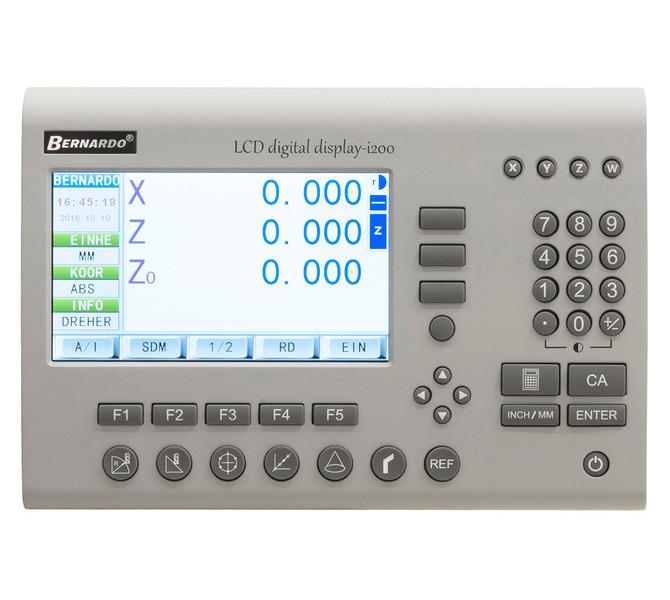 Cyfrowy wyświetlacz LCD - odczyt 3 osi i200 BERNARDO - 4628 - zdjęcie 1