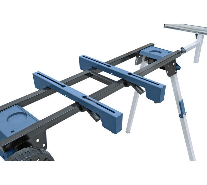 Die verschiebbaren Klemmschienen sind schnell und einfach auf die Maschinenbreite einstellbar. - 5721 - zdjęcie 6
