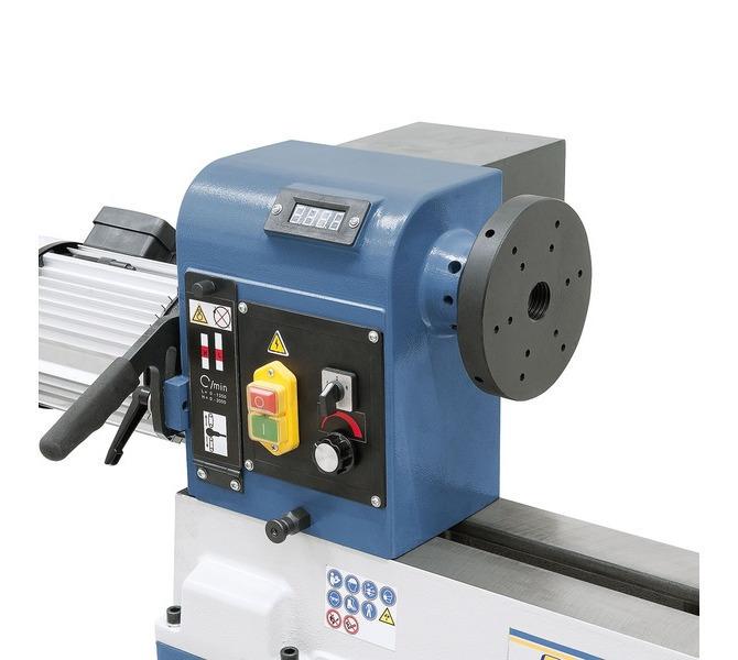 Maszyna może być wyposażona w elektroniczny wskaźnik prędkości obrotowej do optymalnego  ustawiania... 5711 - zdjęcie 10