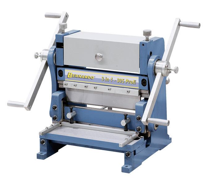 Maszyna uniwersalna do blachy 3 IN 1 - 305 Profi BERNARDO - 5633 - zdjęcie 1