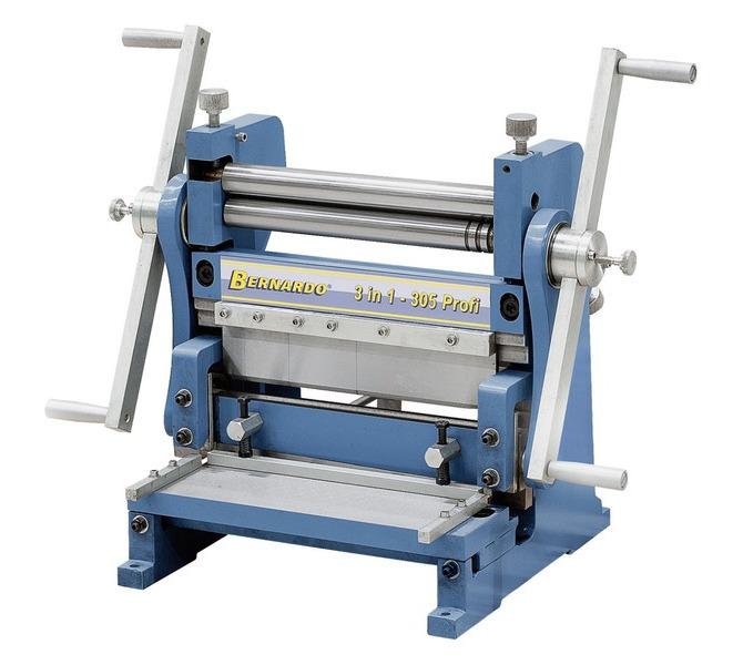 Maszyna uniwersalna do blachy 3 IN 1 - 305 Profi BERNARDO - 5633 - zdjęcie 2