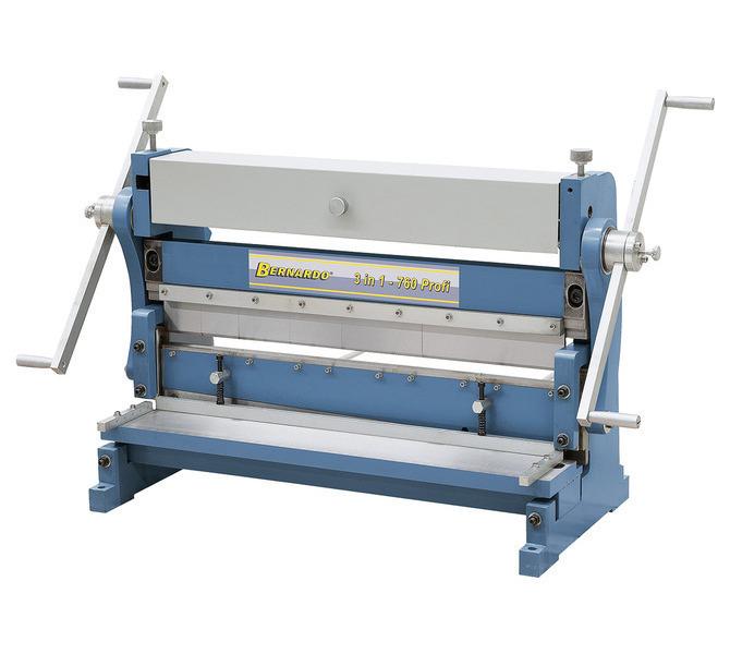 Maszyna uniwersalna do blachy 3 IN 1 - 760 Profi BERNARDO - 5634 - zdjęcie 1