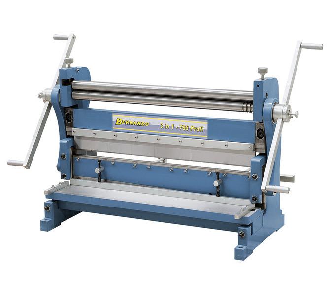 Maszyna uniwersalna do blachy 3 IN 1 - 760 Profi BERNARDO - 5634 - zdjęcie 2