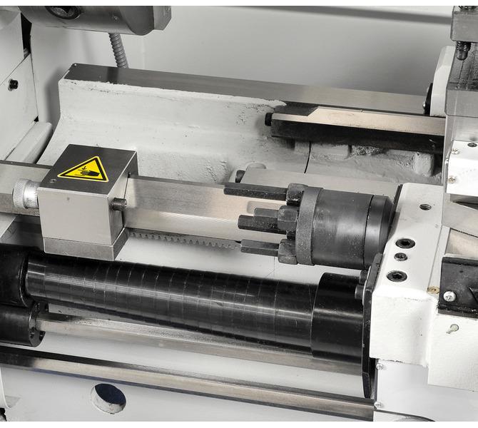 4 regulowane zderzaki oraz mikrometrczny ogranicznik wzdłużny ułatwiające produkcję seryjną. - 2205 - zdjęcie 11
