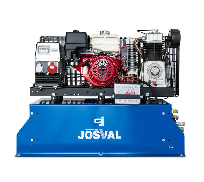 COMPR. 13 CV GAS.50 L 14 Bar = MOBIL J-AIR -SH- JOSVAL - 5891 - zdjęcie 1