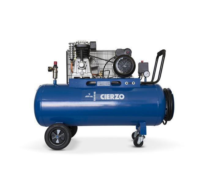 Kompresor pasowy - tłokowy CIERZO C-2/100M-BV- (230V) (100L, 2KM, 10BAR) JOSVAL - 1651 - zdjęcie 1