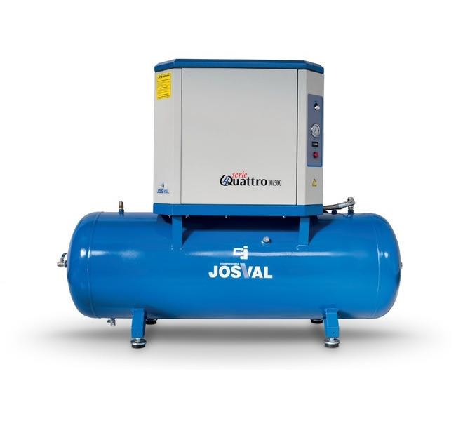 Kompresor tłokowy wyciszany - 4UATTRO 3 (400V) (3KM, 10BAR) JOSVAL - 5884 - zdjęcie 5