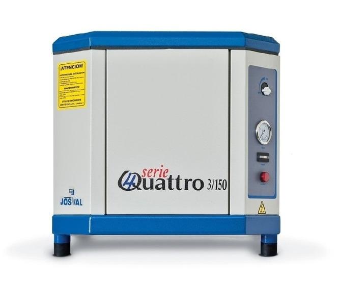 Kompresor tłokowy wyciszany - 4UATTRO 3 (400V) (3KM, 10BAR) JOSVAL - 1795 - zdjęcie 6