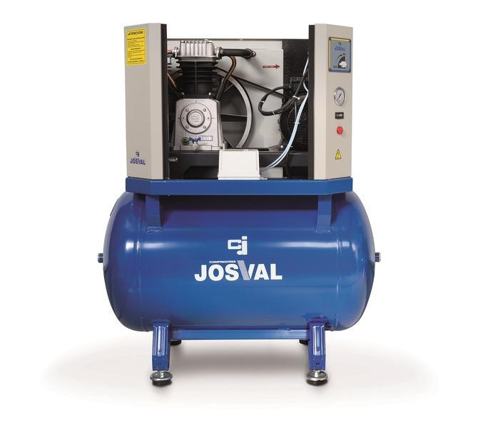 Kompresor tłokowy wyciszany - 4UATTRO 3 (400V) (3KM, 10BAR) JOSVAL - 1795 - zdjęcie 4