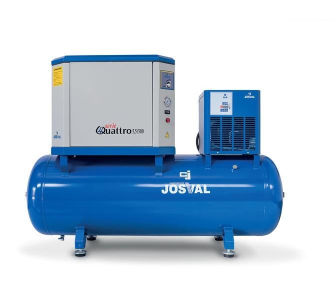 Kompresor tłokowy wyciszany - 4UATTRO 3 (400V) (3KM, 10BAR) JOSVAL - 5884 - zdjęcie 2