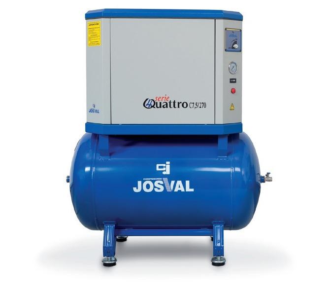 Kompresor tłokowy wyciszany - 4UATTRO 3 (400V) (3KM, 10BAR) JOSVAL - 5884 - zdjęcie 3