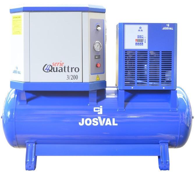 Kompresor tłokowy wyciszany - 4UATTRO 3 (400V) (3KM, 10BAR) JOSVAL - 1795 - zdjęcie 8