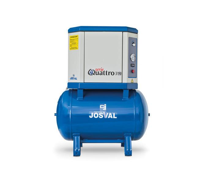 Kompresor tłokowy wyciszany - 4UATTRO 3 (400V) (3KM, 10BAR) JOSVAL - 5884 - zdjęcie 7