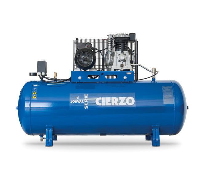 Kompresor pasowy - tłokowy CIERZO - C-2/50M-BV- (230V) (50L, 2KM, 10BAR) JOSVAL - 1667 - zdjęcie 1