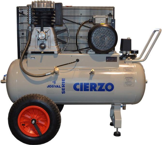 Kompresor pasowy - tłokowy CIERZO - C-2/50M-BV- (230V) (50L, 2KM, 10BAR) JOSVAL - 1667 - zdjęcie 3