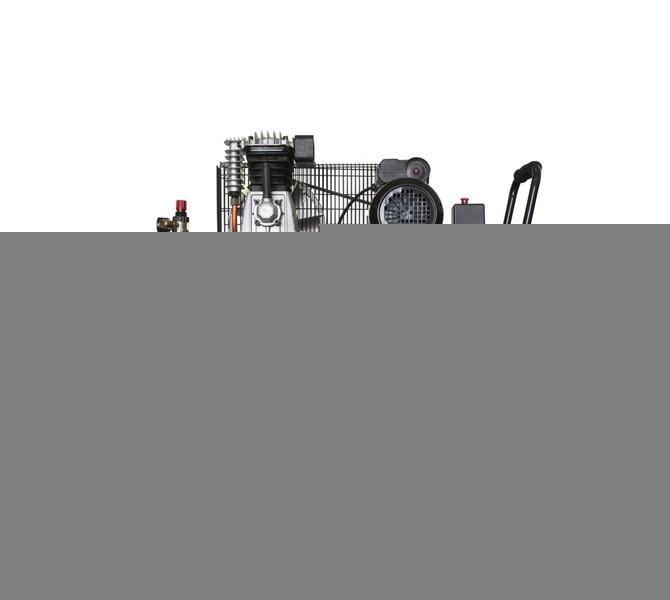 Kompresor pasowy - tłokowy CIERZO - C-2/50M-BV- (230V) (50L, 2KM, 10BAR) JOSVAL - 1683 - zdjęcie 1