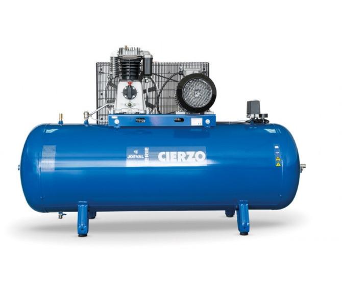 Kompresor pasowy - tłokowy CIERZO - C-2/50M-BV- (230V) (50L, 2KM, 10BAR) JOSVAL - 1848 - zdjęcie 5