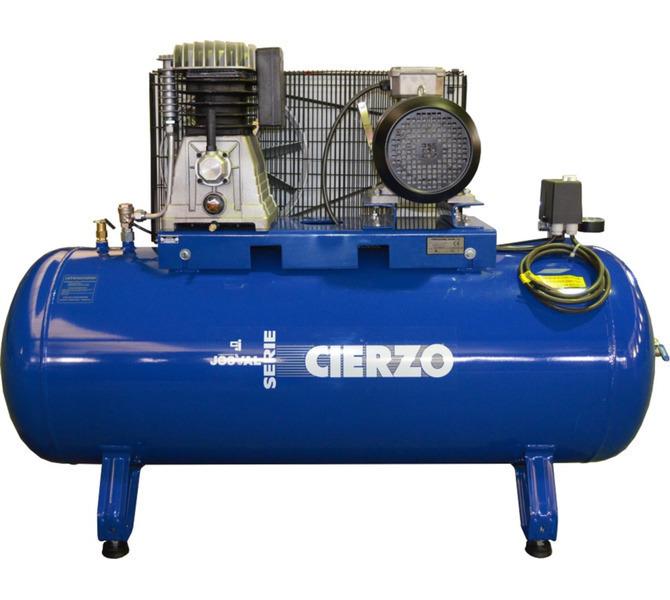 Kompresor pasowy - tłokowy CIERZO - C-2/50M-BV- (230V) (50L, 2KM, 10BAR) JOSVAL - 1848 - zdjęcie 6