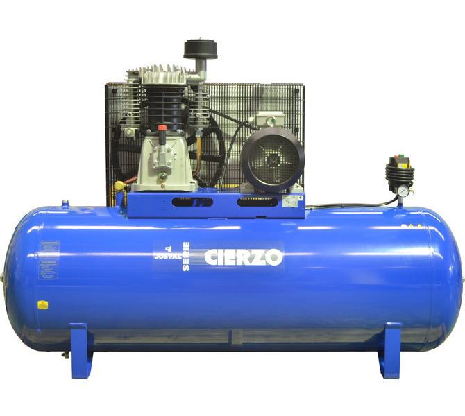 Kompresor pasowy - tłokowy CIERZO - C-2/50M-BV- (230V) (50L, 2KM, 10BAR) JOSVAL - 1848 - zdjęcie 4