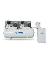 Kompresor pasowy - tłokowy CIERZO - C-2/50M-BV- (230V) (50L, 2KM, 10BAR) JOSVAL
