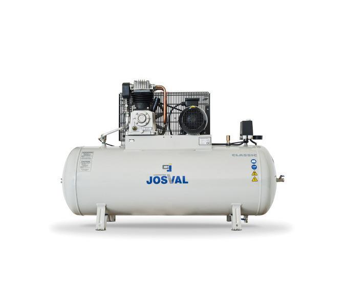 Kompresor pasowy - tłokowy CLASSIC - MC-MLC-25/A (230V) (25L, 1.5KW, 10BAR) (zawór automatyczny) JOSVAL - 1758 - zdjęcie 3