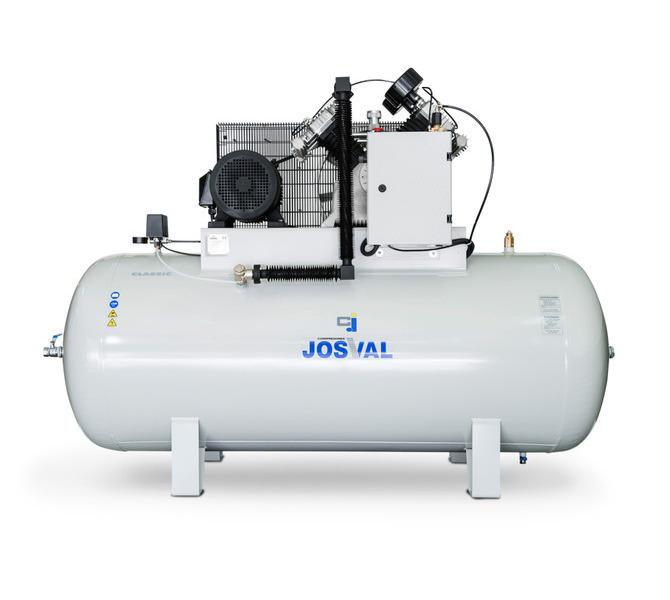 Kompresor pasowy - tłokowy CLASSIC - MC-MLC-25/A (230V) (25L, 1.5KW, 10BAR) (zawór automatyczny) JOSVAL - 1758 - zdjęcie 6