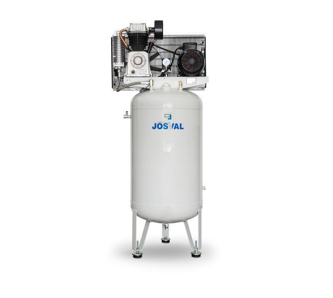 Kompresor pasowy - tłokowy CLASSIC - MC-VAF-300 (400V) (270L, 4KW, 10BAR) JOSVAL - 1805 - zdjęcie 7