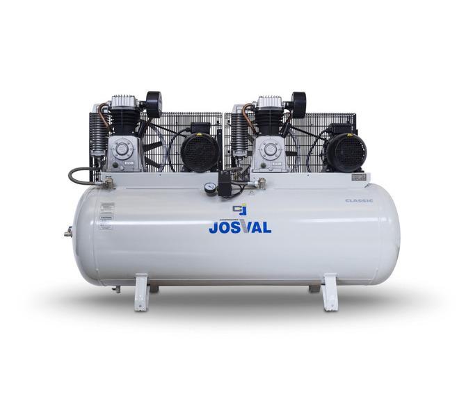 Kompresor pasowy - tłokowy CLASSIC - MC-MLC-25/A (230V) (25L, 1.5KW, 10BAR) (zawór automatyczny) JOSVAL - 1648 - zdjęcie 1