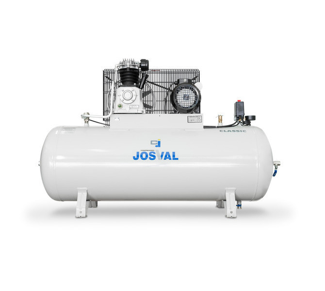 Kompresor pasowy - tłokowy CLASSIC - MC-MLC-25/A (230V) (25L, 1.5KW, 10BAR) (zawór automatyczny) JOSVAL - 1680 - zdjęcie 6
