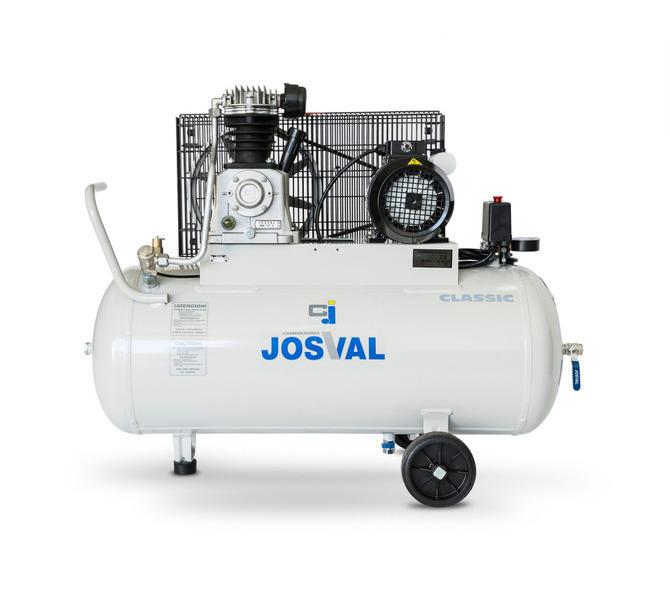 Kompresor pasowy - tłokowy CLASSIC - MC-MLC-25/A (230V) (25L, 1.5KW, 10BAR) (zawór automatyczny) JOSVAL - 1737 - zdjęcie 4