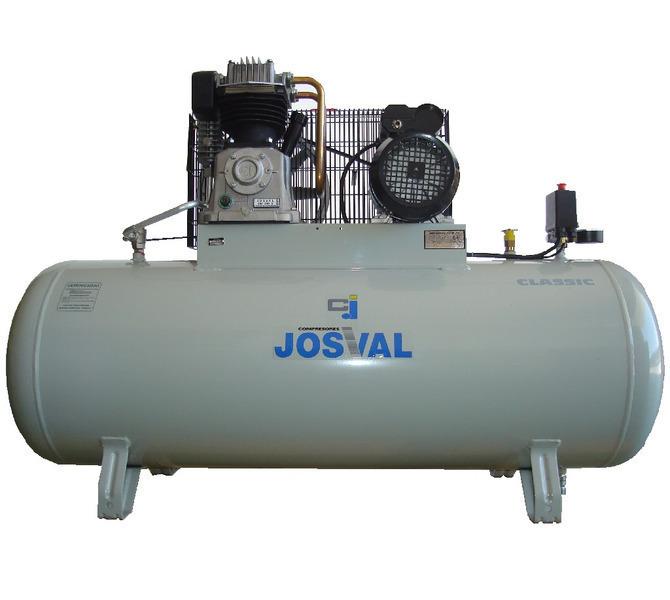 Kompresor pasowy - tłokowy CLASSIC - MC-MLC-25/A (230V) (25L, 1.5KW, 10BAR) (zawór automatyczny) JOSVAL - 1758 - zdjęcie 1