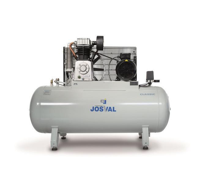 Kompresor pasowy - tłokowy CLASSIC - MC-MLC-25/A (230V) (25L, 1.5KW, 10BAR) (zawór automatyczny) JOSVAL - 1737 - zdjęcie 7