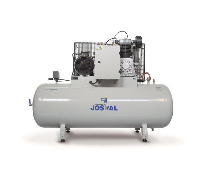 Kompresor pasowy - tłokowy CLASSIC - MC-MLC-25/A (230V) (25L, 1.5KW, 10BAR) (zawór automatyczny) JOSVAL - 1737 - zdjęcie 11
