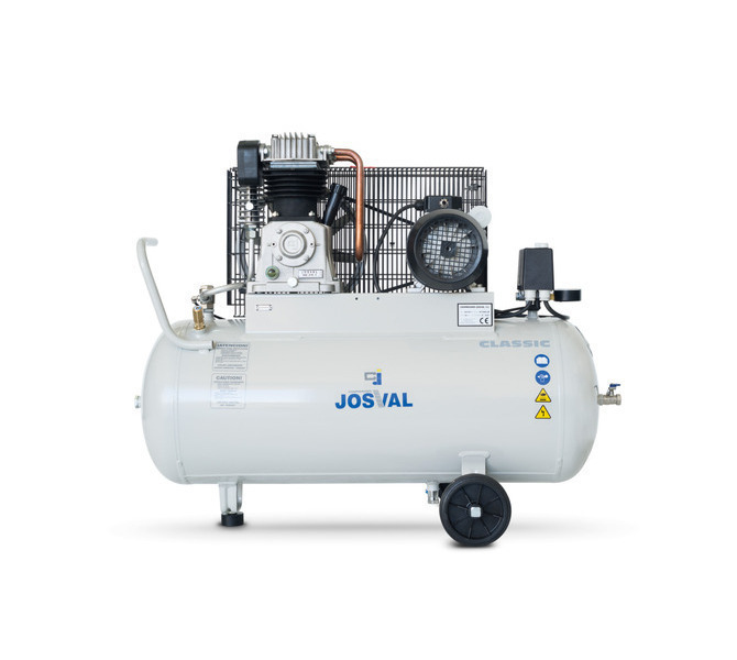 Kompresor pasowy - tłokowy CLASSIC - MC-MLC-25/A (230V) (25L, 1.5KW, 10BAR) (zawór automatyczny) JOSVAL - 1678 - zdjęcie 10