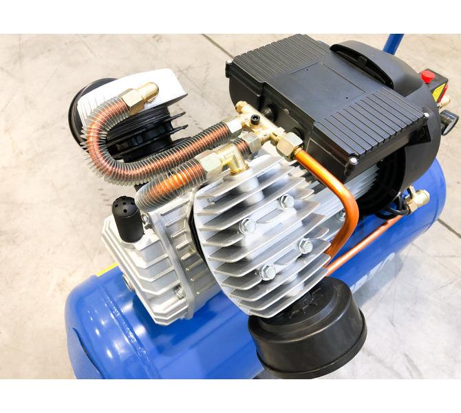 Kompresor tłokowy CIERZO - NKV 50 - (2 cylindry w układzie V) (50L, 3KM, 8BAR, 230V) JOSVAL - 1672 - zdjęcie 3