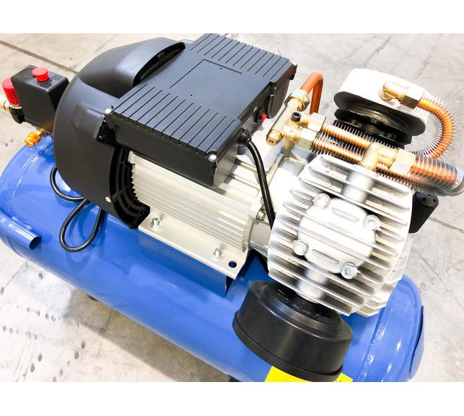 Kompresor tłokowy CIERZO - NKV 50 - (2 cylindry w układzie V) (50L, 3KM, 8BAR, 230V) JOSVAL - 1672 - zdjęcie 4