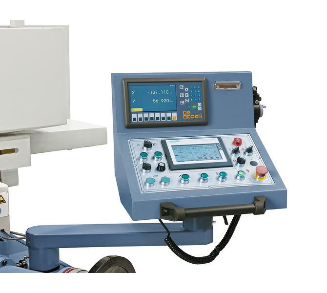 Szlifierka do płaszczyzn BSG 2040 PLC z cyfrowym wyświetlaczem 2 osi ** BERNARDO - 6016 - zdjęcie 5