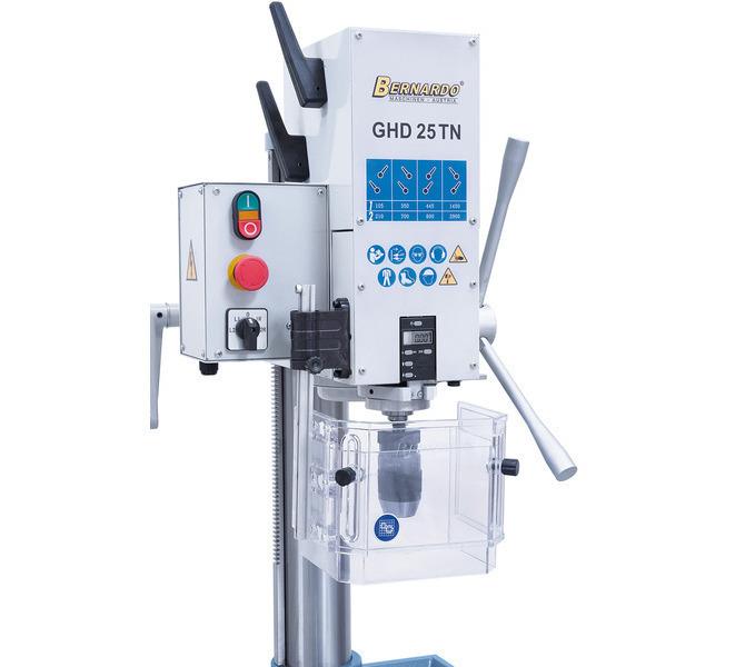 Wiertarka stołowa GHD 25 TN DIG - BERNARDO - 6116 - zdjęcie 6
