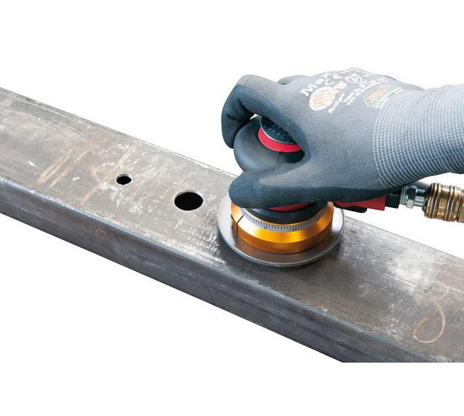 Pneumatyczna ukosowarka ręczna - szlifierka do kantów, fazowania PKFM 100 BERNARDO - 6124 - zdjęcie 7
