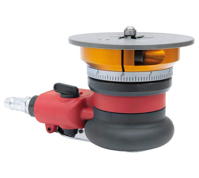 Pneumatyczna ukosowarka ręczna - szlifierka do kantów, fazowania PKFM 100 BERNARDO - 6124 - zdjęcie 3
